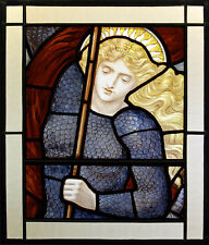 Joan of Arc stained glass, Jeanne d'Arc, The Maid of Orléans suncatcher, glass