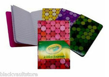 Bulk Lot of 144 2-Packs of Crayola Mini Journals by Hallmark (288 Notebooks!)