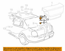 TOYOTA OEM 01-02 Echo Trunk-Lock 6461052040 OEM NEW PART