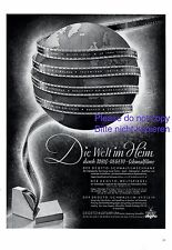 Tobis Degeto Film Berlin XL 1941 German ad Culture advertising movie +