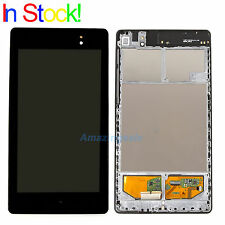 LCD Display Screen Digitizer Assembly Frame For Google Nexus 7 2nd 2013 WIFI
