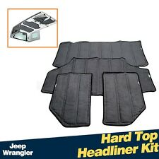 Car Roof Hardtop Heat Insulation Cotton Kit  For Jeep Wrangler 4Door 2012-2015