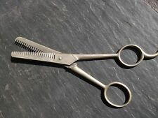 "VTG  7"" Thinning CHARLESCRAFT  Shears, Hair Cutting Scissors Made In Italy"
