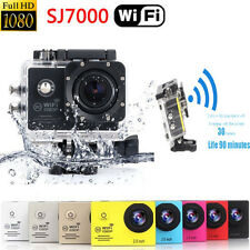 "SJ7000 WIFI 2.0"" 1080P HD Action Camera Sport DV Pro Camcorder Car DVR For Gopro"