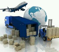 Parcel delivery collection service  UK to france upto 30kgs printer required.