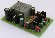 Single-ended Class A JFET / MOSFET headphone amplifier kit (incl. power supply)