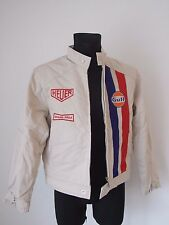 TAG HEUER GRAND PRIX Steve McQueen  NEW ORIGINAL JACKET SIZE L