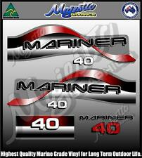 MARINER - 40hp - OUTBOARD DECALS