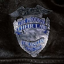 THE PRODIGY - THEIR LAW-THE SINGLES 1990-2005  CD NEW+