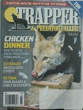 Trapper & Predator Caller March 2017 Chicken Dinner Coyotes Fur FREE SHIPPING sb