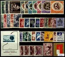 Poland MNH 1956 Complete Year set
