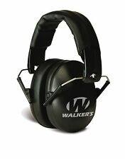 Ear Muffs Hearing Protection For Woman Kids Ultra Light Slim Ear Cups Black