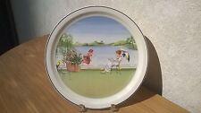 VILLEROY & BOCH *NEW*  Assiette murale Les Saisons Romantiques L'été 23cm deco