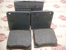 DATSUN 1200 Front Disk Brake Pads Genuine (Fits NISSAN B110 B210 120Y GX Coupe)