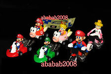 Takara Tomy Super Mario Kart Wii pull back car Part.2 figure with stickers