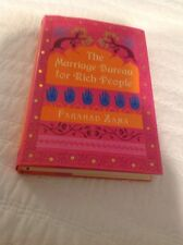 The Marriage Bureau For Rich People By Farahad Zamia HB /DJ