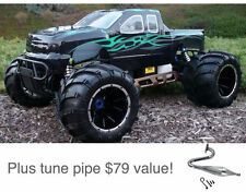 RedCat Racing Rampage MT V3 1/5 Scale Gas RC Monster Truck, 32cc + PIPE, 2.4Ghz