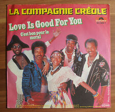 "Single 7"" Vinyl La Compagnie Creole - Love is good for you"