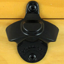 Black BOTTLE CAP MOUNT Starr X Wall Mount Bottle Opener - Powder Coated - NEW!