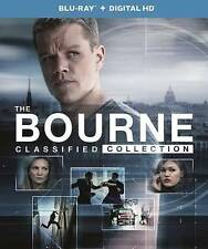 The Bourne Classified Collection (Blu-ray Disc, 2016, 5-Disc Set, UltraViolet In