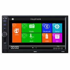 "2Din 6,2"" Navi GPS Multimedia Bluetooth Autoradio DVD Cortex A9 mit 1 GHz FM AM"