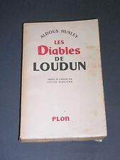 Aldous Huxley les diables de Loudun Etude sur la possession et sorcellerie 1953