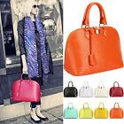 Neu Luxus Damen Echt Leder Handtasche Schultertasche Clutch Tasche Tragetasche