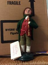 BYERS Choice Colonial Boy  Williamsburg Christmas  retired 1998