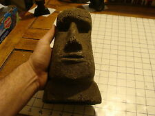 Original Vintage EASTER ISLAND HEAD CANDLE, so cool
