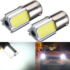2pcs 1156 BA15S P21W 36 SMD COB LED Bombilla HID Coche Turn Backup Reverse Light
