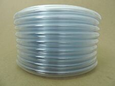 Clear PVC Vinyl Flexible Vacuum Pump Hose Milk  Milker Tubing 10ft 1/2ID 3/4OD