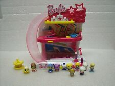 CUTE Squinkies Barbie My Fab Gym Studio rare Squinkies lot