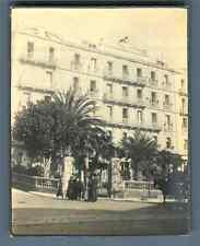 France, Menton, Grand Hôtel des Ambassadeurs Vintage silver print. Vintage Franc