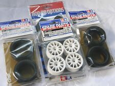 TAMIYA 1/10 RC CAR Tire(50684)+Wheel(51237)+Hard inner SET for M-Chassis M.grip