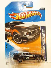 HOT WHEELS 2012 MAIN STREET  MAZDA RX 7 ON 2010 FORD MUSTANG CARD ERROR