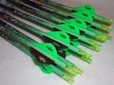 1/2 dozen Carbon Express Mutiny Slasher 350 custom carbon arrows w/blazers!!!