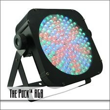 Blizzard Lighting The Puck RGB Couch Potato Series with Remote Flat LED PAR Can