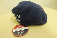 Roots USA Olympics 2004 Drivers Hat  Size Small NEW Satisfaction Guaranteed LOOK