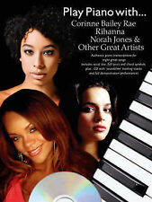 Play Piano with... Corrine Bailey Rae, Rihanna, Norah Jones and Others