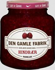 DEN GAMLE FABRIK DÄNISCHER FRUCHTAUFSTRICH MARMELADE KONFITÜRE HIMBEERE 380g