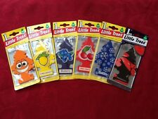 6x MAGIC LITTLE TREES CAR & HOME AIR FRESHENER 100% AUTHENTIC MIX OF FRAGRENCES