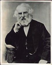 photographie d'art . le poète Américain Henry wadsworth Longfellow