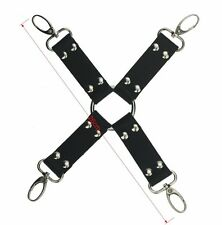BDSM Bondage Sex Cosplay game andcuffs & Anklecuffs & Cross Buckle Restraint kit