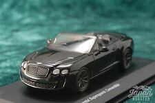 [KYOSHO ORIGINAL 1/64] BENTLEY CONTINENTAL SUPERSPORTS CONVERTIBLE (Black)