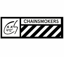 THE CHAINSMOKERS Bouquet 2016 Ltd Ed RARE Sticker +FREE Dance/Pop Stickers Roses