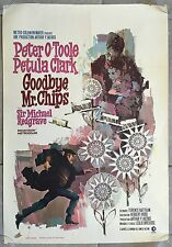 Affiche Belge GOODBYE M. CHIPS Peter O'Toole PETULA CLARK Michael Redgrave