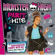 MONSTER HIGH - PARTY HITS  CD NEW+