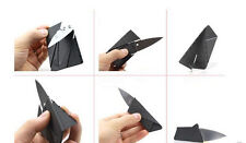 Blade Outdoor sharp Cardsharp Credit Card Folding Portable Camping Mini Knife TO