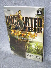 UNCHARTED Official Game Guide Book Japan Sony Play Station Vita EB8851*