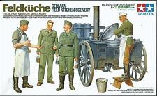 TAMIYA 1:35 KIT FELDKUCHE GERMAN FIELD KITCHEN SCENERY          ART 35247
